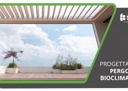 progettazione di una pergola bioclimatica